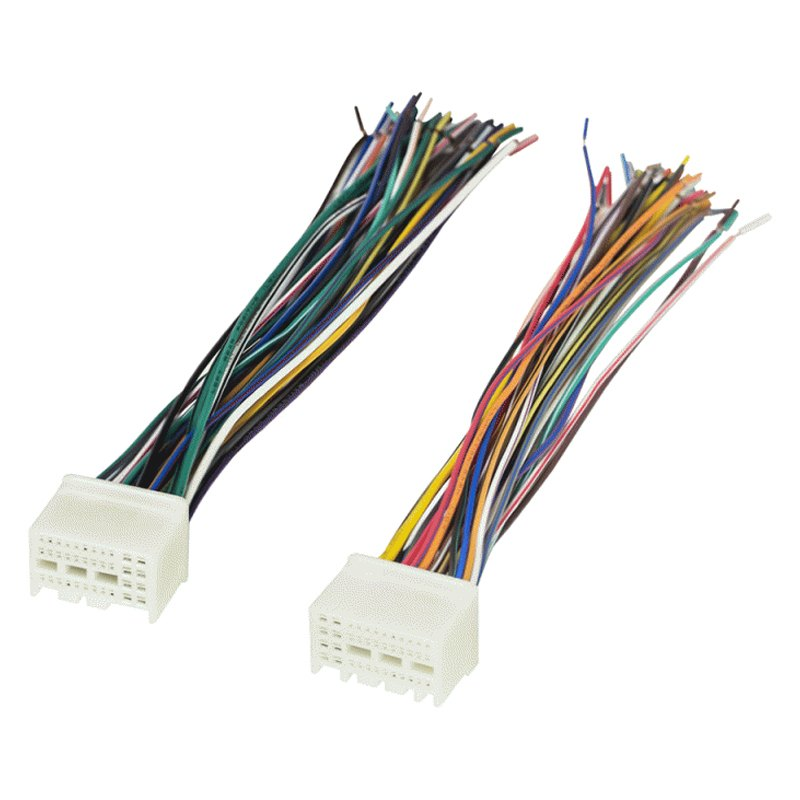 Factory Replacement Wiring Harness with OEM Radio Plug